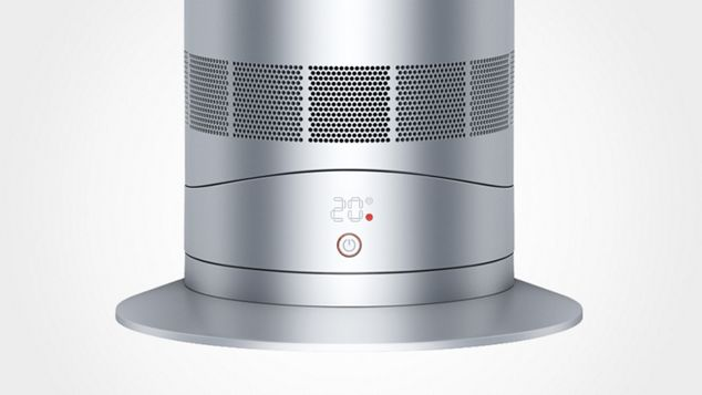 Dyson Am09 White Fast Even Room Heating Powerful Personal
